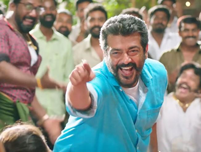 New song video from Ajith's Viswasam