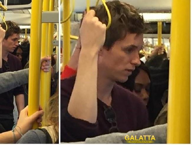 Eddie Redmayne's public transport fantasy!