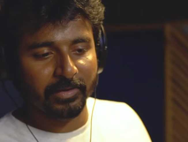 Sivakarthikeyan singing video for Vaibhav sixer