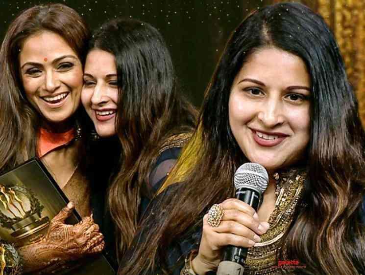 Sangeetha wins unheralded commander award at Galatta Wonder Women - Tamil Movie Cinema News