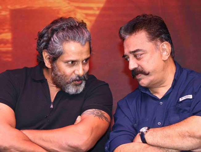 Kamal Haasan compares Vikram with Sivaji Ganesan  - Tamil Movie Cinema News