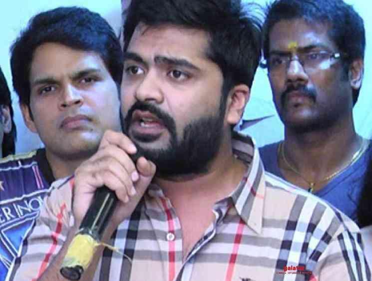 Simbu STR statement on Shankar Indian 2 crane accident issue - Tamil Movie Cinema News
