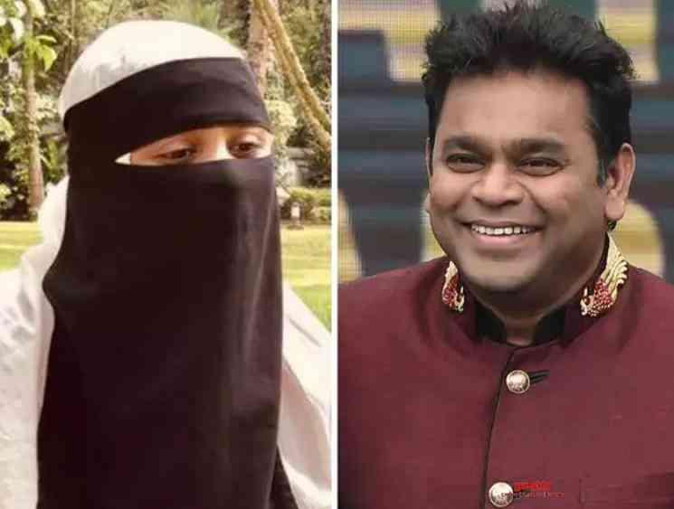 AR Rahman daughter Khatija replies to Taslima Nasreen - Tamil Movie Cinema News