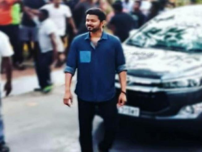 Thalapathy Vijay Thalapathy 63 Shooting Spot News Viral Pictures Videos Atlee Nayanthara Fans