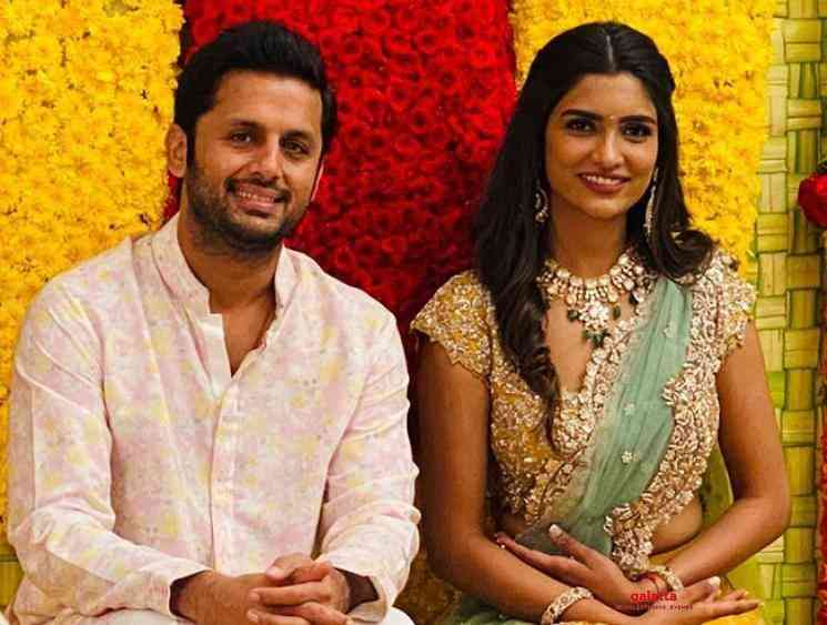 Telugu actor Nithiin pre wedding photos - Tamil Movie Cinema News