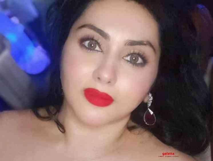Man abuses and harasses Namitha on Instagram - Tamil Movie Cinema News