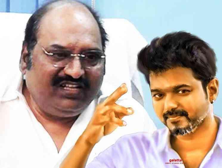 When late DMK MLA Anbazhagan supported Thalapathy Vijay - Tamil Movie Cinema News