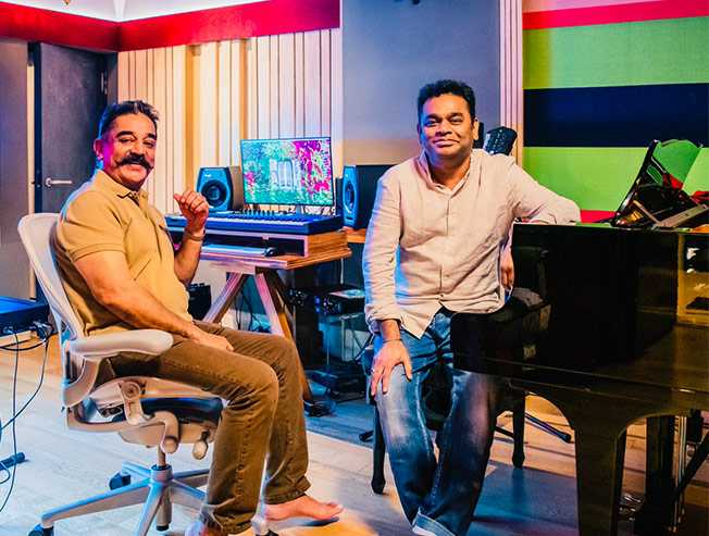 OFFICIAL: After 19 years AR Rahman to score music for Kamal Haasan