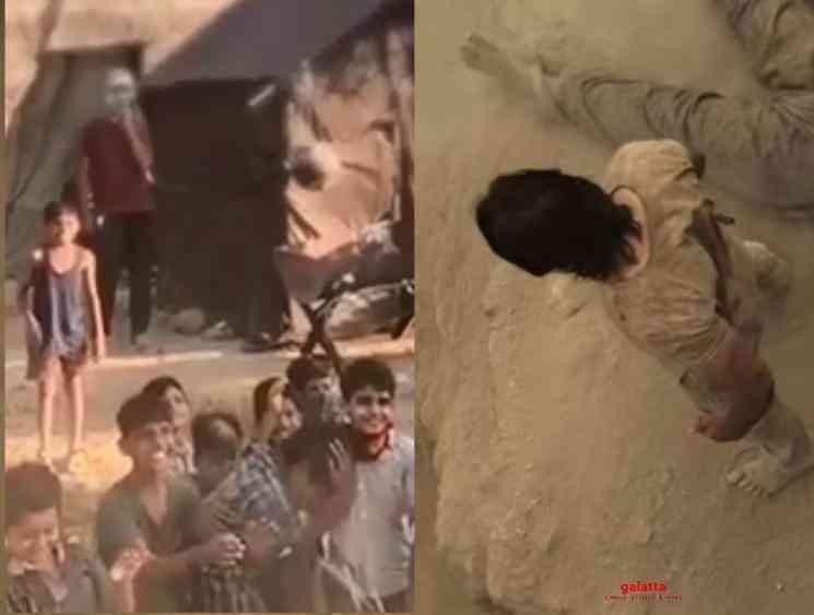 Prasanth Neel releases new Yashs KGF 2 shooting spot video - Tamil Movie Cinema News