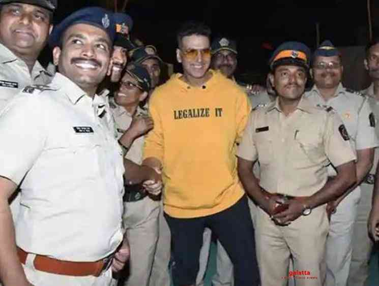 Akshay Kumar donates 2 crores to police department - Tamil Movie Cinema News