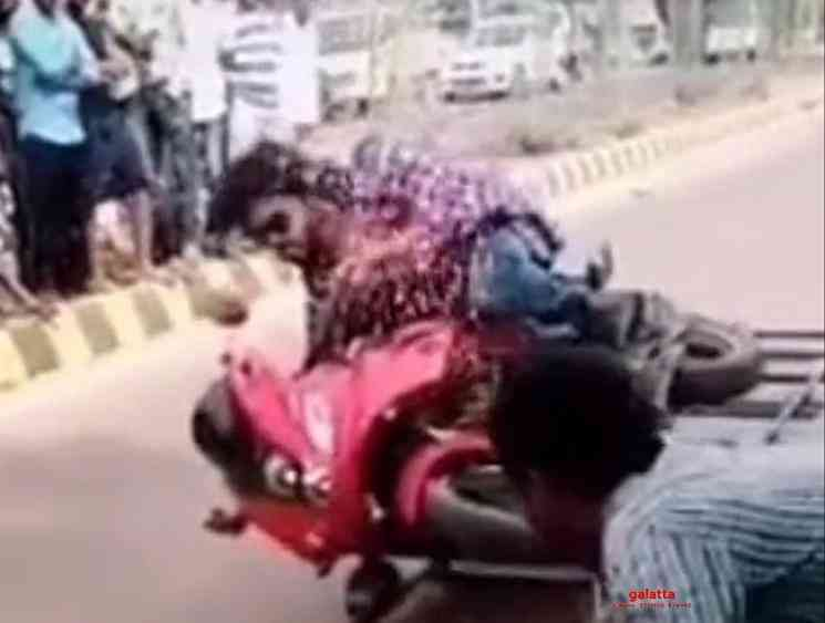Leaked bike video is not Vijay says Master team - Tamil Movie Cinema News