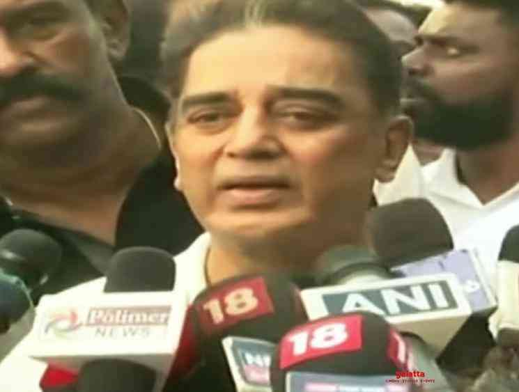 Kamal Haasan narrates the nasty Indian 2 accident - Tamil Movie Cinema News
