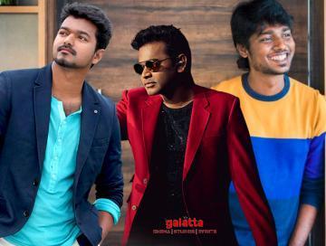 Vijay and Atlee in the most tweeted handles 2019 - Telugu Movie Cinema News