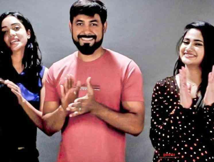 Bigg Boss Abirami and Losliya team up for Aari film - Tamil Movie Cinema News