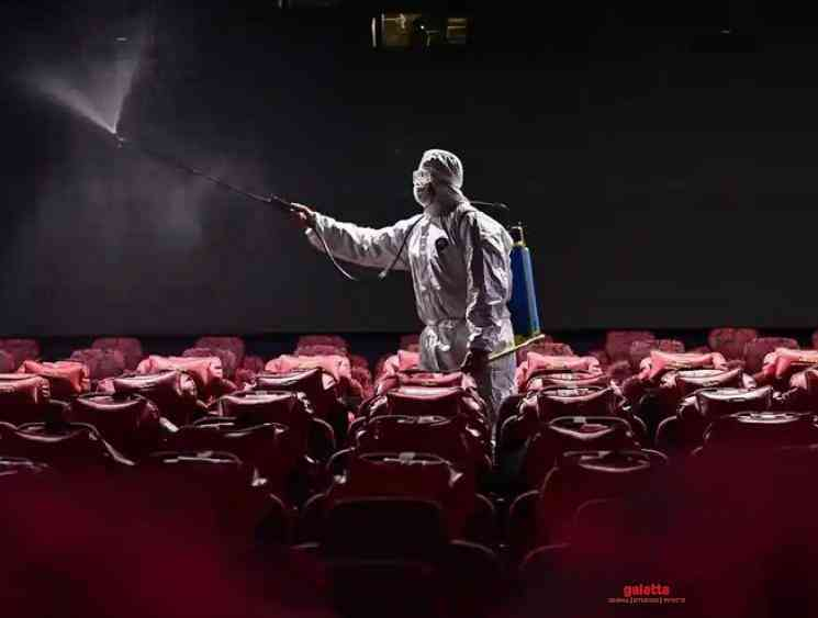 All re-opened theatres asked to close in China Corona 2nd wave - Tamil Movie Cinema News