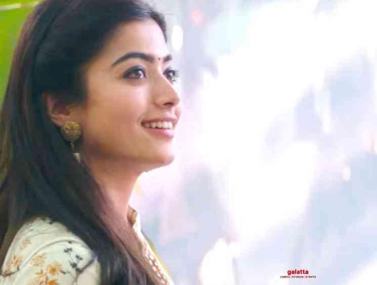 Sara Sari Video Glimpse Bheeshma Rashmika