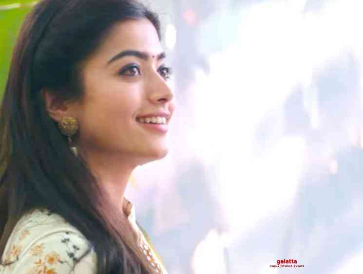 Sara Sari Video Glimpse Bheeshma Rashmika - Tamil Movie Cinema News