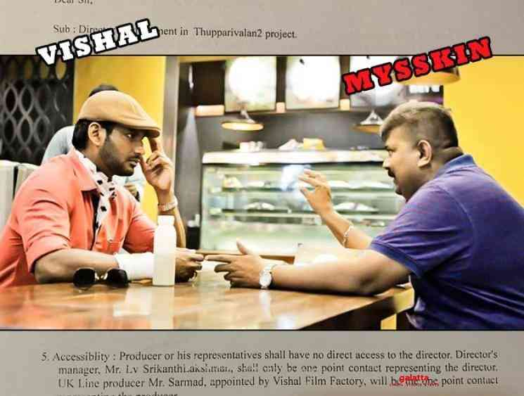 Mysskin shocking demands for Thupparivalan 2 leaked - Tamil Movie Cinema News