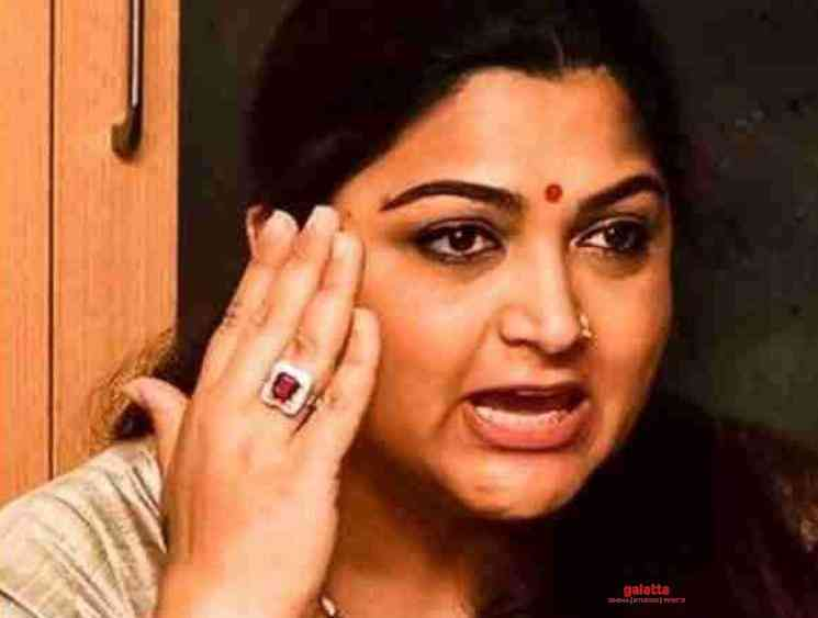 Khushbu apologizes for hurting press people - Tamil Movie Cinema News
