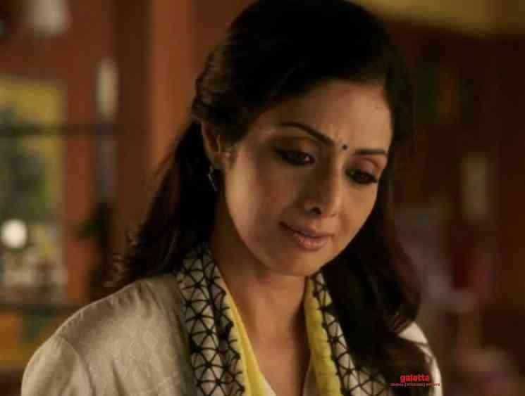 Boney Kapoor tweets about Sridevi last film Mom - Tamil Movie Cinema News