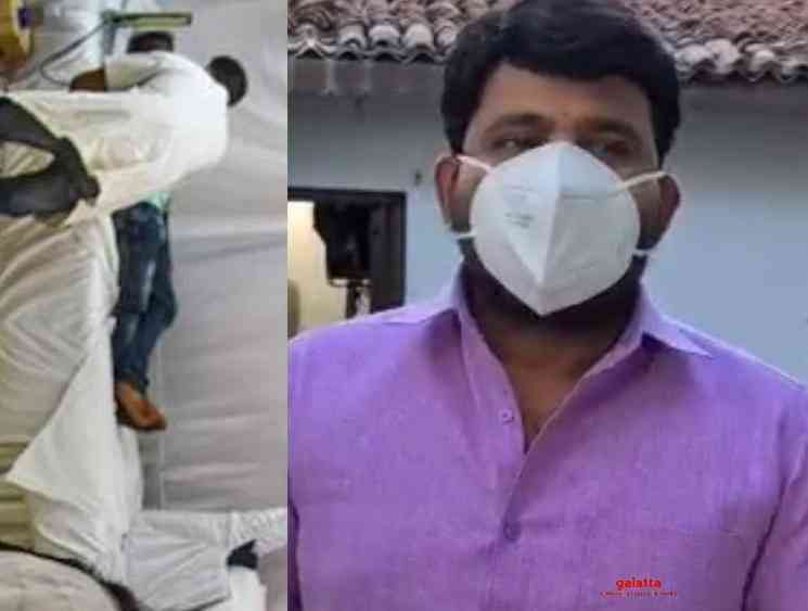 Telugu TV actor Prabhakaran infected by Corona Virus - Tamil Movie Cinema News