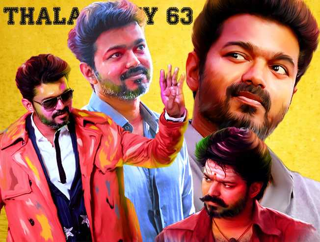 Vijay to play double roles in Thalapathy 63 directed by Atlee