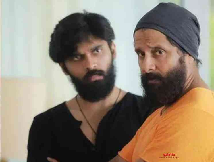 Chiyaan Vikram and Dhruv Vikram team up for Chiyaan 60 - Tamil Movie Cinema News