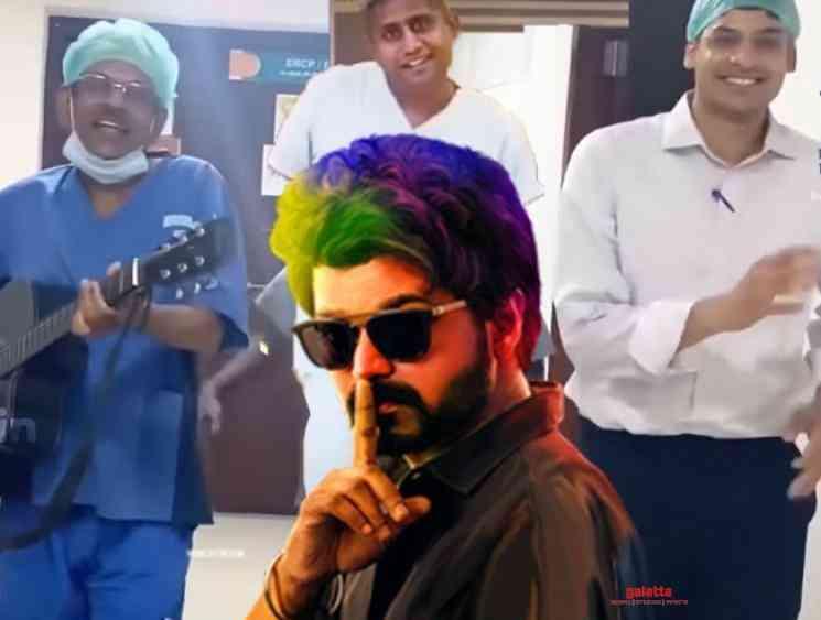 100 Tamil Nadu doctors dance to Vijay film tune to bring hope - Tamil Movie Cinema News