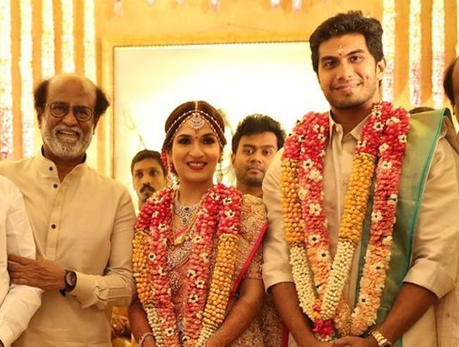 Rajinikanth's daughter wedding - Exclusive video
