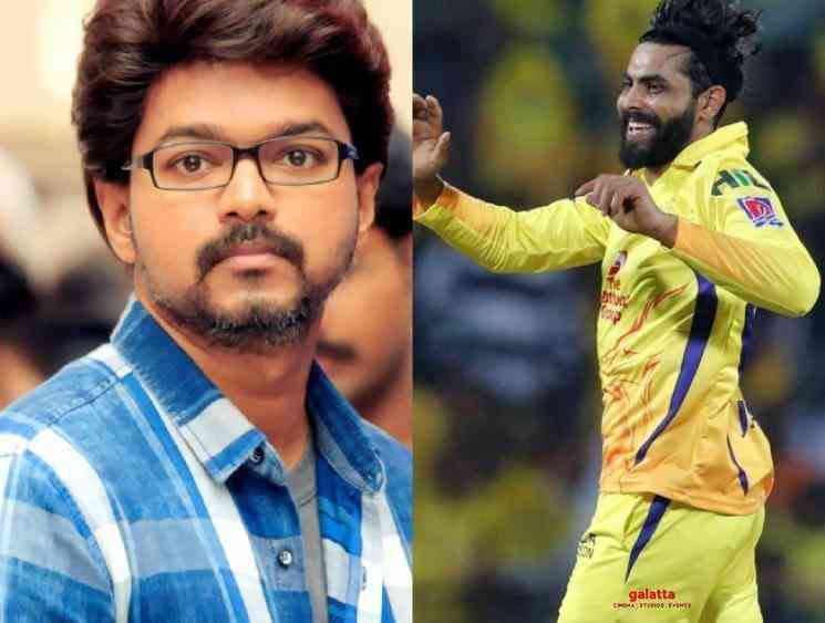 Ravindra Jadeja says Vijay Theri is his favorite SouthIndian film - Tamil Movie Cinema News