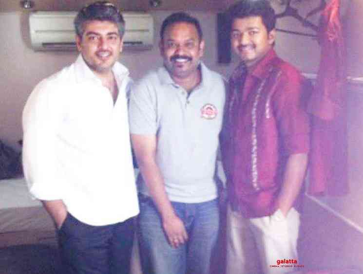 Venkat Prabhu shares nostalgic picture with Vijay and Ajith - Tamil Movie Cinema News