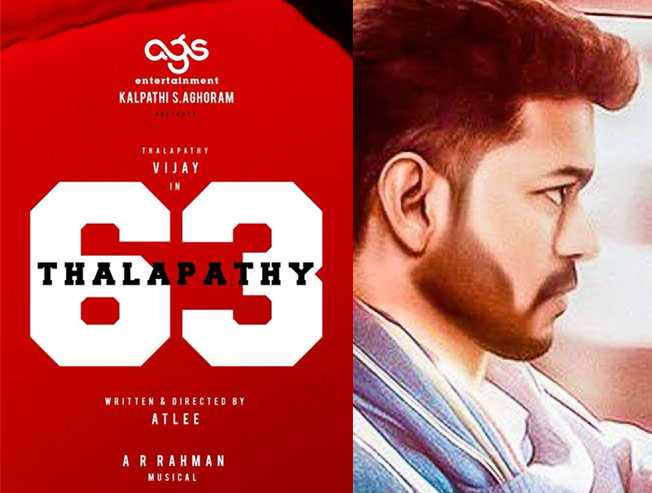 Finally, AGS makes the much-awaited Thalapathy 63 announcement