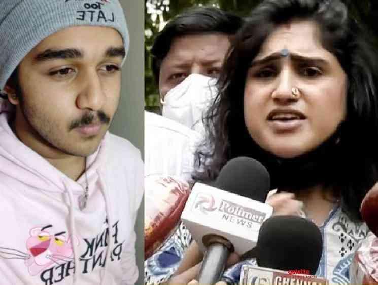 Vanitha Vijayakumar latest statement about her son Vijay Sri Hari - Tamil Movie Cinema News