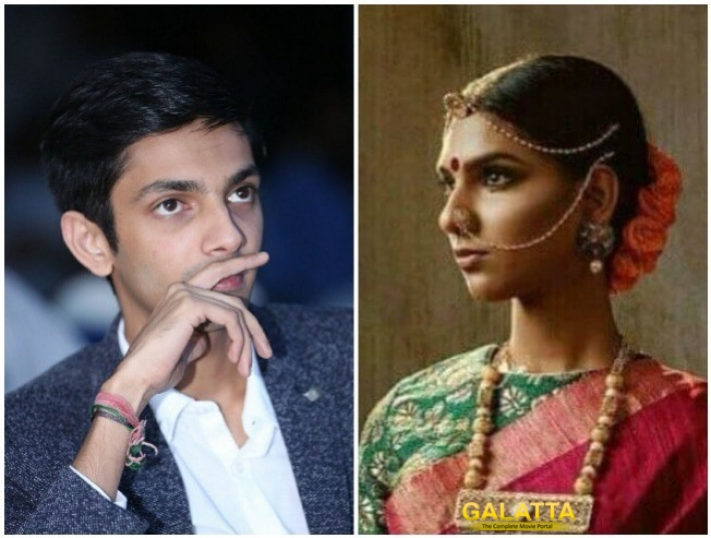 Anirudh Ravichander Not The Woman In Photoshoot But Model Shaano