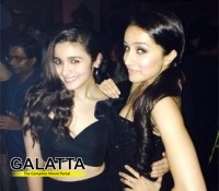 Shraddha and Alia party all night long