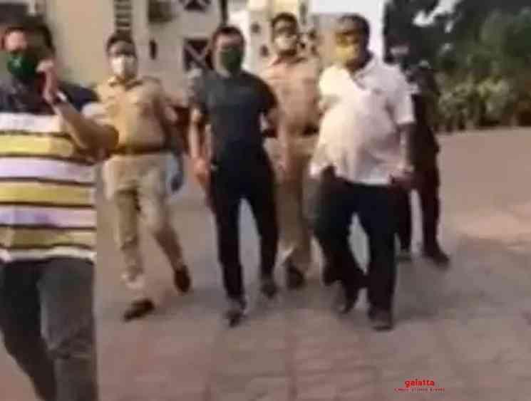 Actor Ajaz Khan arrested again for Facebook post - Tamil Movie Cinema News