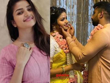 Tamil Serial actress Nithya Ram gets engaged  - Kannada Movie Cinema News