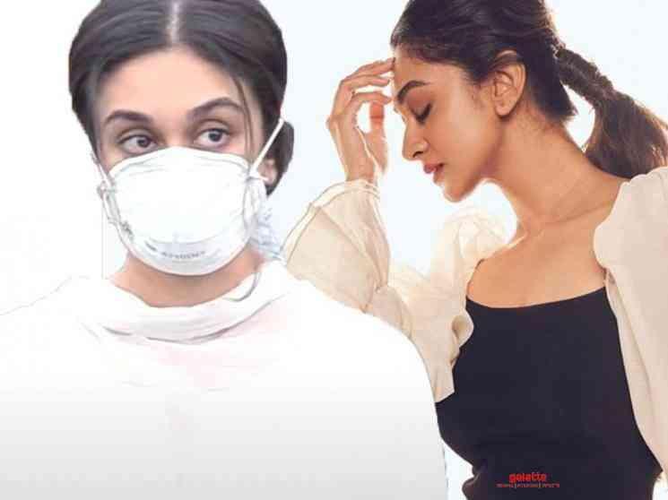 Aishwarya Arjun tested positive for corona - Tamil Movie Cinema News
