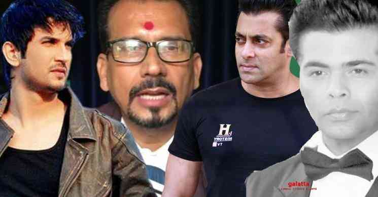 Case filed against Salman Khan for Sushant Singh Rajput suicide - Tamil Movie Cinema News