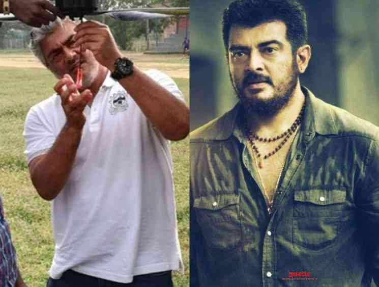 Ajith gives idea to disinfect red zones in TamilNadu using drones - Tamil Movie Cinema News