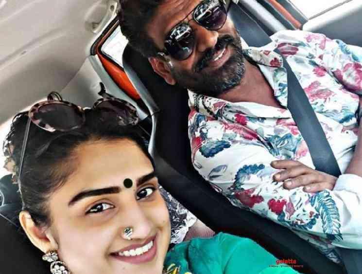 Vanitha Vijayakumar posts picture with her fiance Peter Paul - Tamil Movie Cinema News