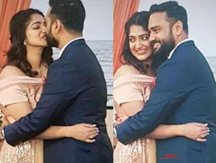 Popular TV anchor and singer Divya gets married to Shibu - Tamil Movie Cinema News