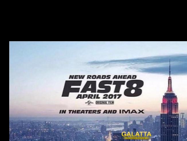 Fast 8's first look is out!