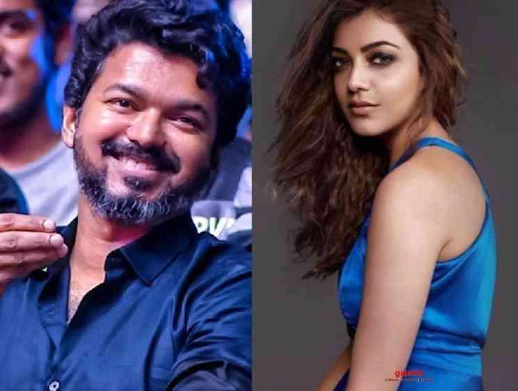Kajal Aggarwal confirms that she would be acting with Vijay soon - Telugu Movie Cinema News