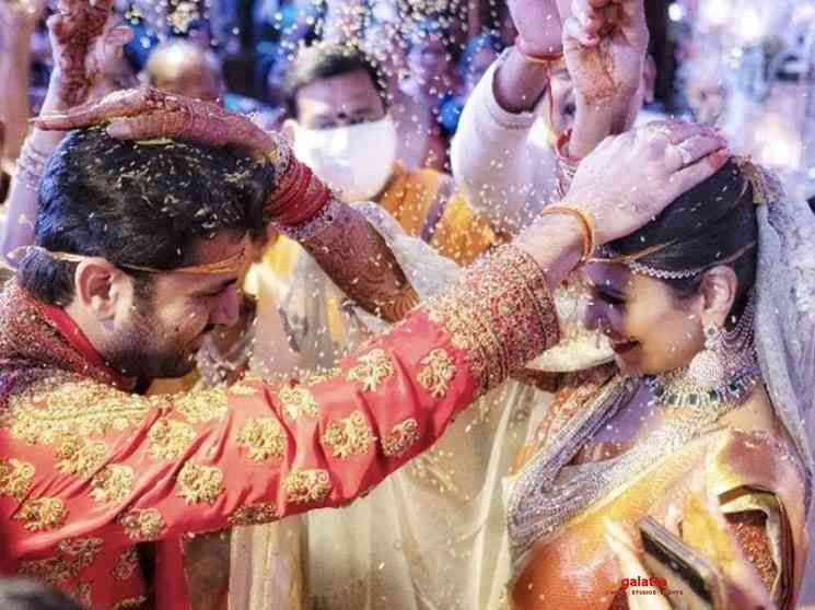 Actor Nithiin gets married to girlfriend Shalini - Tamil Movie Cinema News