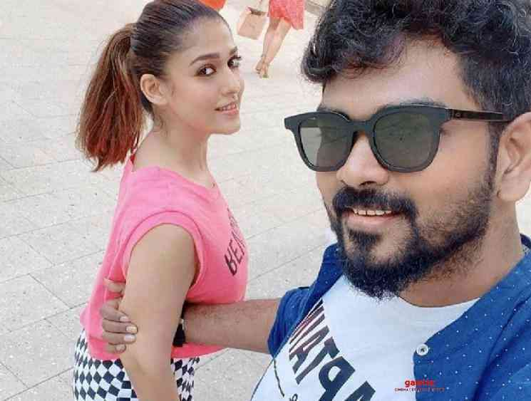 Vignesh Shivan Valentines Day special note Nayanthara new photos - Tamil Movie Cinema News