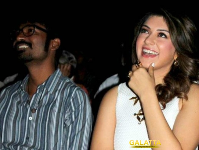 Hansika Fifty Th Film Title To Be Announced BY Dhanush