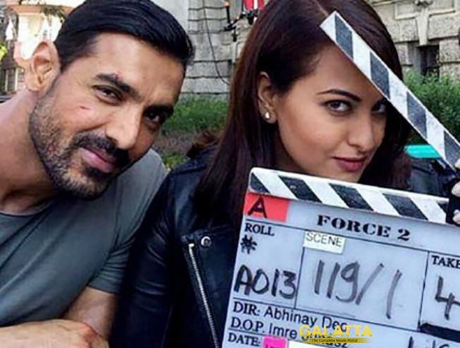 Watch out for Sonakshi in Force 2!