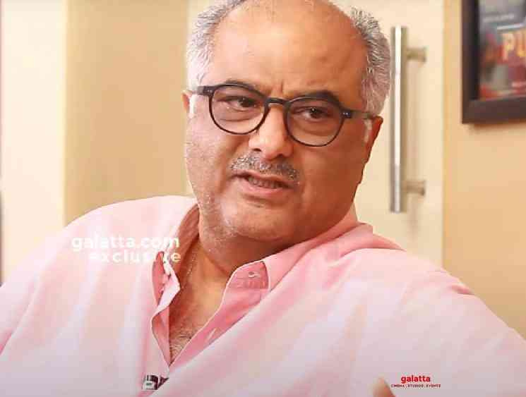 Boney Kapoor domestic help tested positive for Corona Virus - Tamil Movie Cinema News