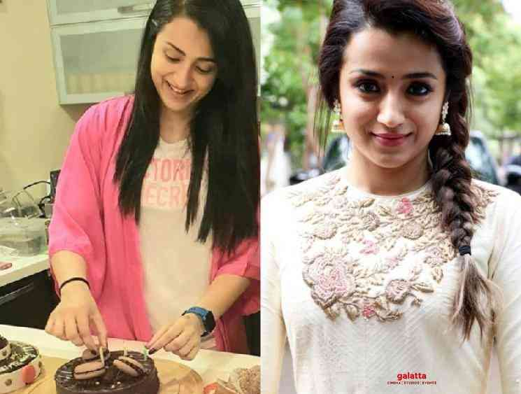 Trisha shares video of her fans wishing her for her birthday - Tamil Movie Cinema News
